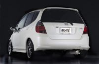 Blitz NUR-WX Axle Back Exhaust Honda Fit 06-08