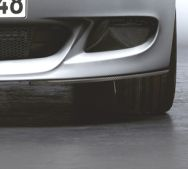 BMW Performance Carbon Fiber Splitters BMW 1 Series 08-11