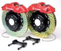 Brembo GT 12.3 Inch 4 Piston 2pc Front Drilled Big Brake Kit Mazda Miata 90-05