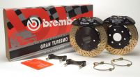 Brembo GT 12.9 Inch 4 Piston 2pc Front Brake Kit Audi TT Mk1 00-06