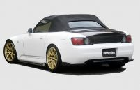 ChargeSpeed Bottom Line Carbon Rear Lip Caps Honda S2000 AP1 00-04