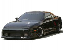 ChargeSpeed Full Body Kit Nissan 240SX S13 JDM Hatchback 89-94