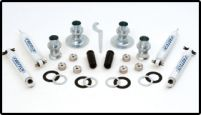 Fabtech 2.5in Adjustable Lift Kit Jeep Wrangler 03-06