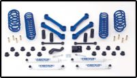 Fabtech 4in Basic System Jeep Wrangler 97-06