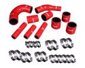 Godspeed Project High Performance 4-PLY Red Radiator Silicone Hose Kit Mitsubishi EVO10 CZ4A 4B11T 2.0L Turbo 08-12