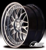 JLine 2 Piece Step/Reverse Lip SDM L2 Wheel 17x7.0