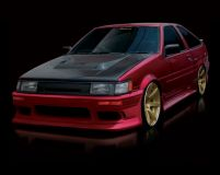 Origin Stream Full Body Kit Toyota Corolla Levin 84-87