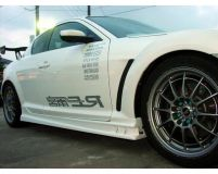 RE-Amemiya SE3P Fiberglass Side Skirts Mazda RX-8 03-11
