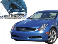 Stillen Fiberglass Power Hood Infiniti G35 Coupe 03-05