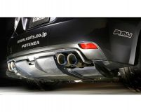 Varis FRP and Carbon Fiber Rear Diffuser Subaru STI GRB 08-12