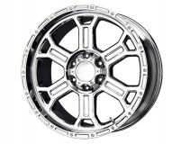 V-TEC Raptor 17X9  6x135  25mm   Chrome