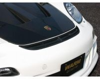 Warm Collection Carbon Aero Hood Porsche 987 Cayman incl S 05-08