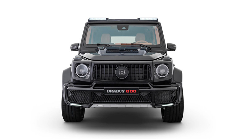 BRABUS B Logo for Front Grill Mercedes Benz G63 18-21 - 464-295-00