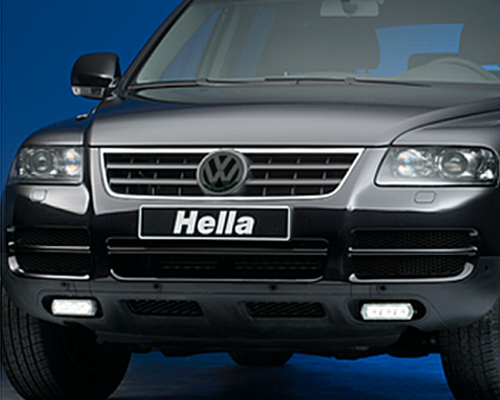 Image of HELLA 3 LED Daytime Running Lights Wiring Harness
