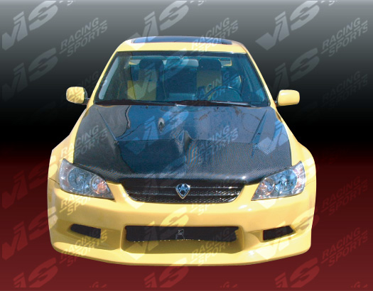 VIS Racing Carbon Fiber Invader Hood Lexus IS300 00-05 - 00LXIS34DVS-010C