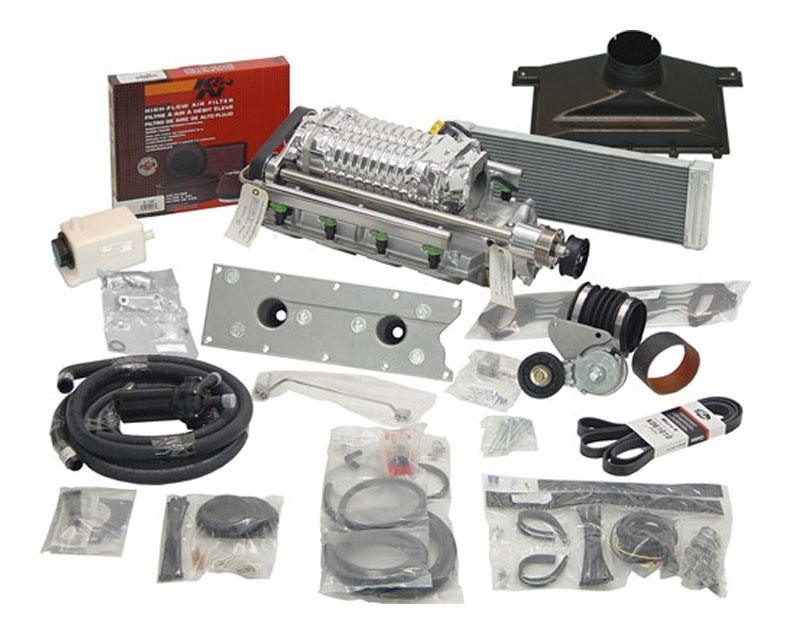 Image of MagnaCharger Intercooled Radix Supercharger kit Chevrolet SSR 5.3L 03-04