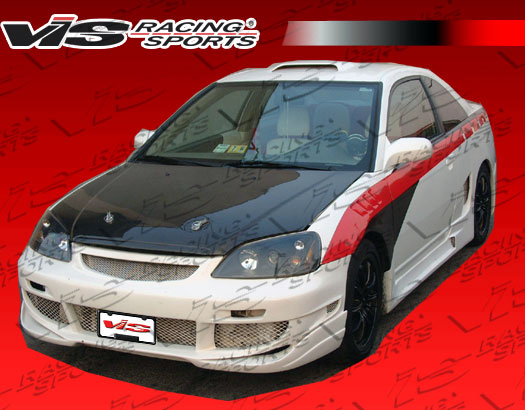 VIS Racing Carbon Fiber OEM Hood Honda Civic 01-03 - 01HDCVC2DOE-010C