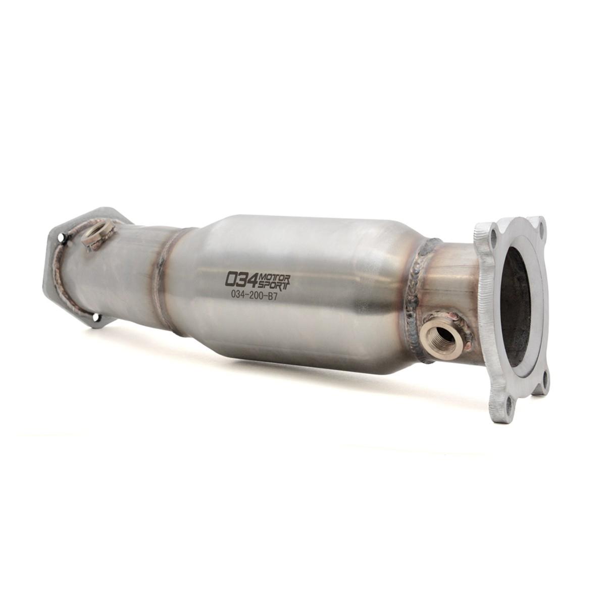 034 Motorsport High Flow Catalytic Converter, B7 Audi A4 2.0T FSI - 034-105-4022