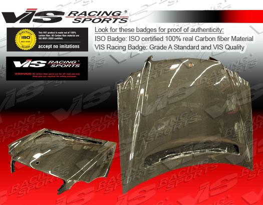 VIS Racing Carbon Fiber OEM Hood Mercedes-Benz CLK 03-07 - 03MEW2092DOE-010C
