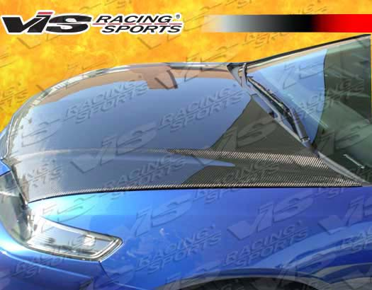 VIS Racing Carbon Fiber OEM Style Hood Acura TSX 04-05 - 04ACTSX4DOE-010C