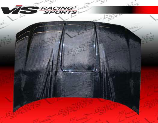 VIS Racing Carbon Fiber ZD Hood Ford F150 04-07 - 04FDF152DZD-010C