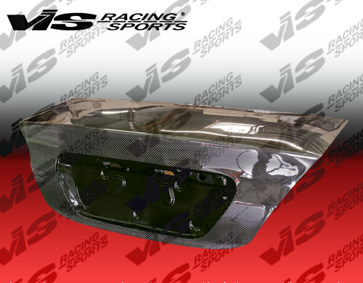 VIS Racing Carbon Fiber OEM Trunk Lid Mitsubishi Lancer 04-06 - 04MTLAN4DOE-020C