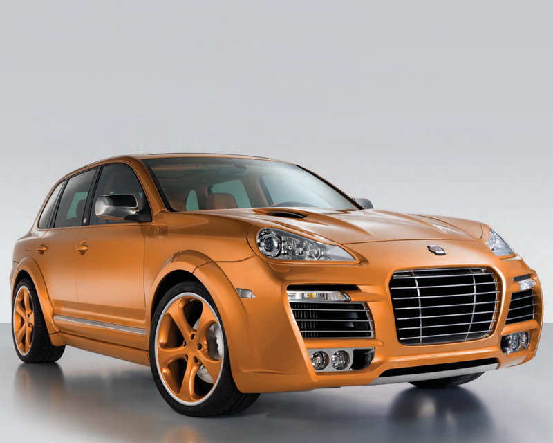 Techart Magnum Aero Wide Body Kit Porsche Cayenne 957 Gts With Xenon Without Tow