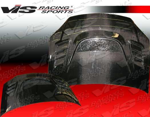 VIS Racing Carbon Fiber Hood ZD Chevrolet Camaro 98-02 - 05CHCOB2DGS-010C