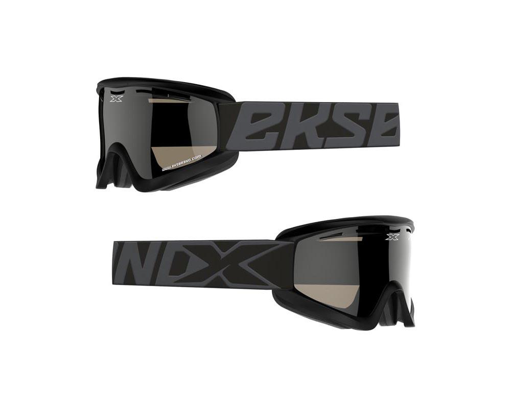 EKS Brand GOX Enduro | OTG Goggles w/ Smoked Lens - 067-60800