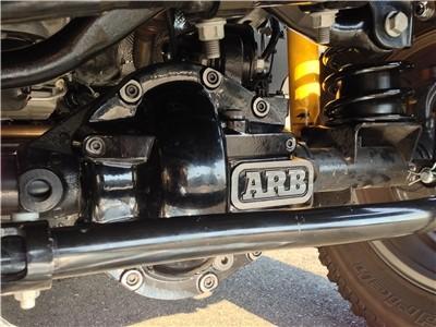 ARB Dana 30 Axles Black Differential Cover - 0750002B