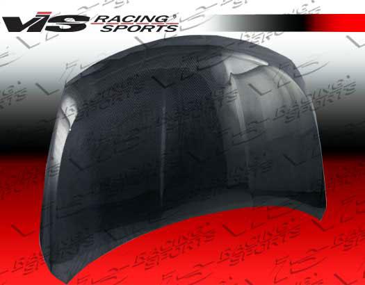 VIS Racing Carbon Fiber OEM Hood Nissan Versa HB 07-08 - 07NSVERHBOE-010C