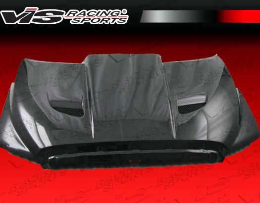 VIS Racing Carbon Fiber Blade Hood Toyota Tundra 07-09