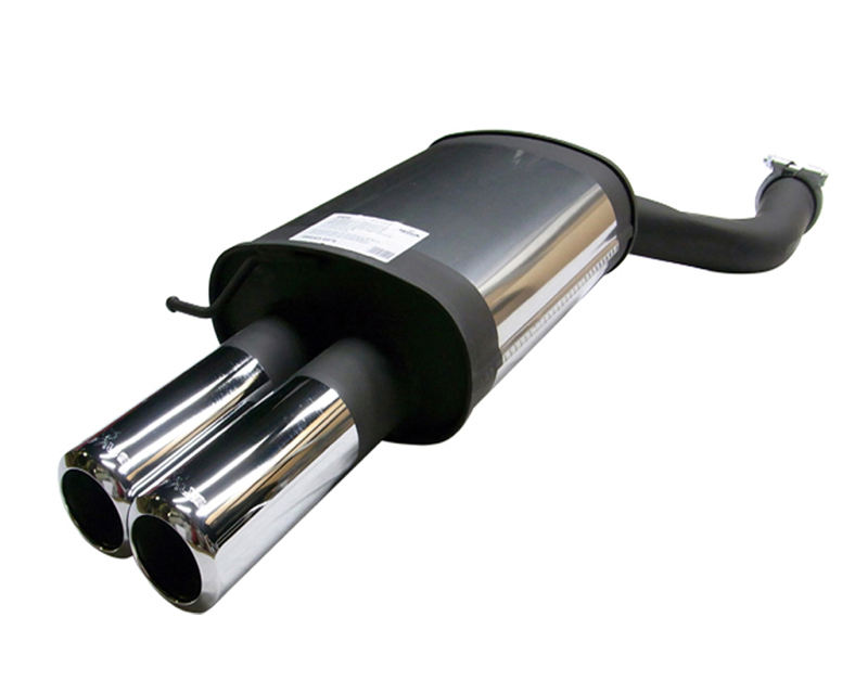REMUS Stainless Muffler w/84mm Dual Tips BMW 525i E60 Sedan & Touring 2.5L 03-07