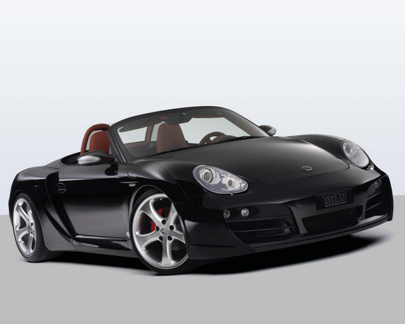 TechArt Wide Body Kit with Black Running Lights Porsche Boxster without OE DRL 05-12 - 087.100.052.009BLK