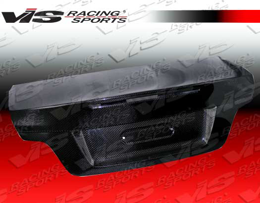 VIS Racing Carbon Fiber OEM Trunk Lid BMW 1-series E82 08-09 - 08BME822DOE-020C