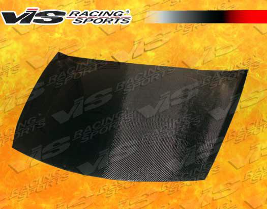 VIS Racing Carbon Fiber OEM Hood Honda Accord 08-09 - 08HDACC2DOE-010C