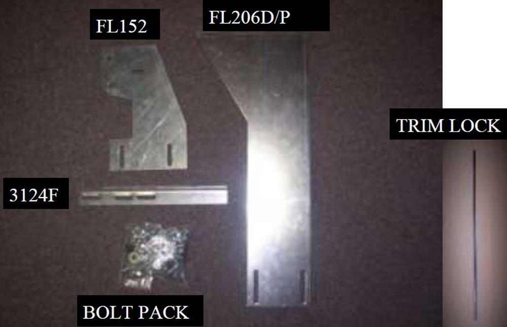 2011 Ram 2500/3500-3173-01/3185-01 Bracket Kit (Must Order) 11-18 Ram 2500/3500 Heavy Gauge Steel Silver Owens Products - 10-1171