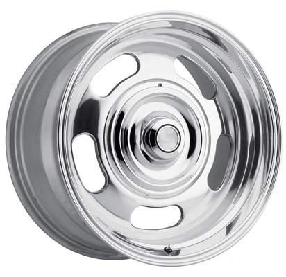 107 Classic 17X8 5X120.65 / 127 0MM Polished 22 Lbs Polished Aluminum Wheels 107 Classic Series REV Wheels - 107P-7800600