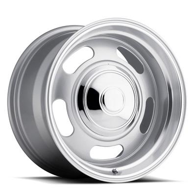 107 Classic Rally 20X8 5X120.7 +0MM 41 Lbs Silver/Trim Ring Aluminum Wheels 107 Classic Rally Series REV Wheels - 107S-2806100
