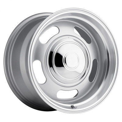 107 Classic Rally 20X9.5 6x139.7 +0MM 42 Lbs Silver/Trim Ring Aluminum Wheels 107 Classic Rally Series REV Wheels - 107S-2958300