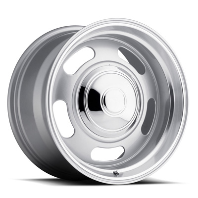 107 Classic Rally 18x9 5x120.65 0MM 28 Lbs Silver/Trim Ring Aluminum Wheels 107 Classic Rally Series REV Wheels - 107S-8906100
