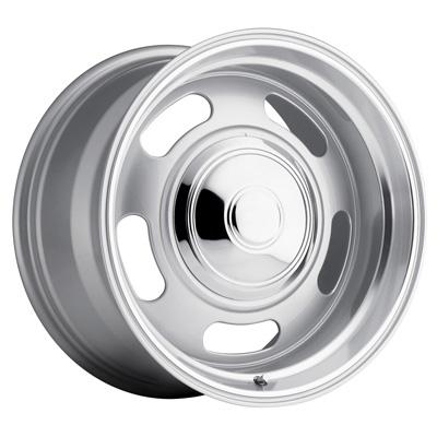 107 Classic Rally 18X9 6X139.7 +0MM 28 Lbs Silver/Trim Ring Aluminum Wheels 107 Classic Rally Series REV Wheels - 107S-8908300