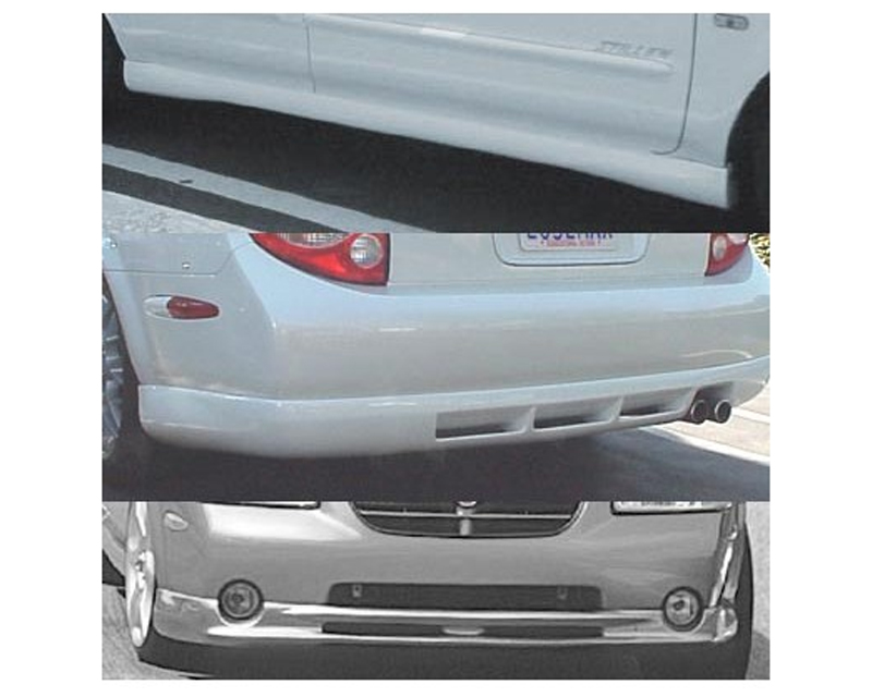 STILLEN 4-Piece Body Kit with Classic Style Front Lip Spoiler Nissan Maxima 00-01 - 108270