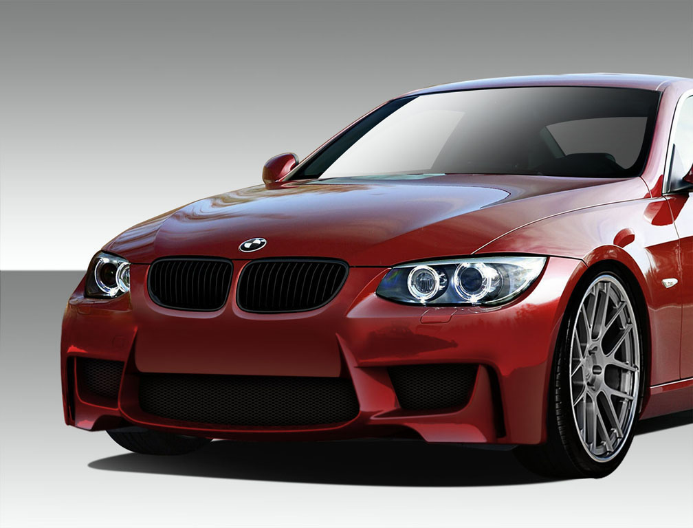 Image of Duraflex 1M Look Front Bumper Cover 1 Piece BMW 3 Series E92 Convertible 2DR 10-13