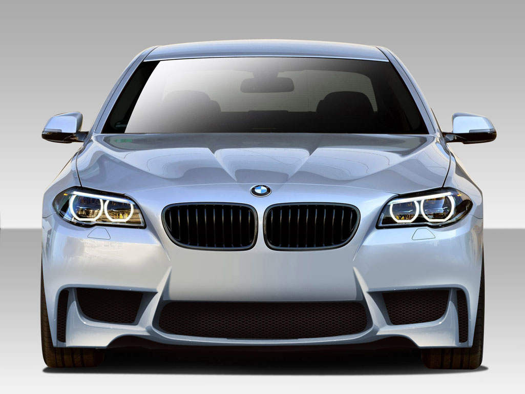Image of Duraflex 1M Look Front Bumper Cover 1 Piece BMW 5 Series F10 4DR 11-15