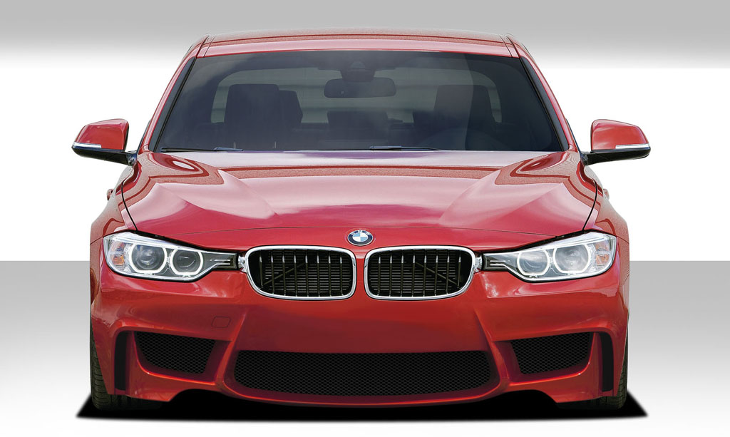 Image of Duraflex 1M Look Front Bumper Cover 1 Piece BMW 3 Series 4DR F30 12-15
