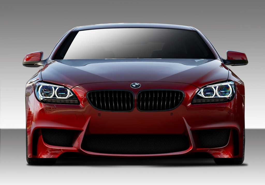 Image of Duraflex 1M Look Front Bumper Cover 1 Piece BMW 6 Series 11-14