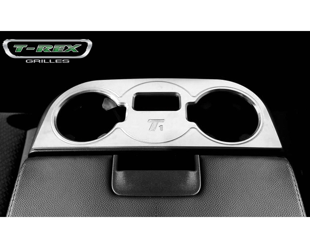 2007-2014 Chev Sub/Tahoe Center Console Cup Holder Trim Brushed, 1 Pc, Tape - PN #11110 - 11110