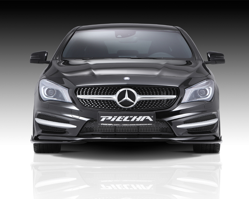 Image of PIECHA 2pc GT-R Aerodynamic Kit 1 Mercedes-Benz CLA-Class W117 14