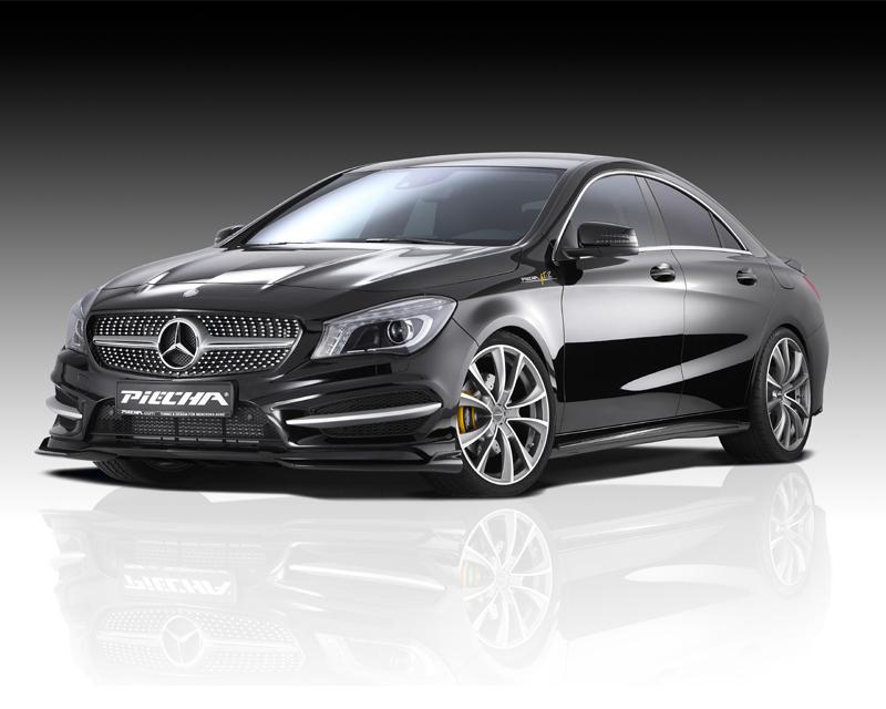 Image of PIECHA 6pc GT-R Aerodynamic Kit 2 Mercedes-Benz CLA-Class W117 14